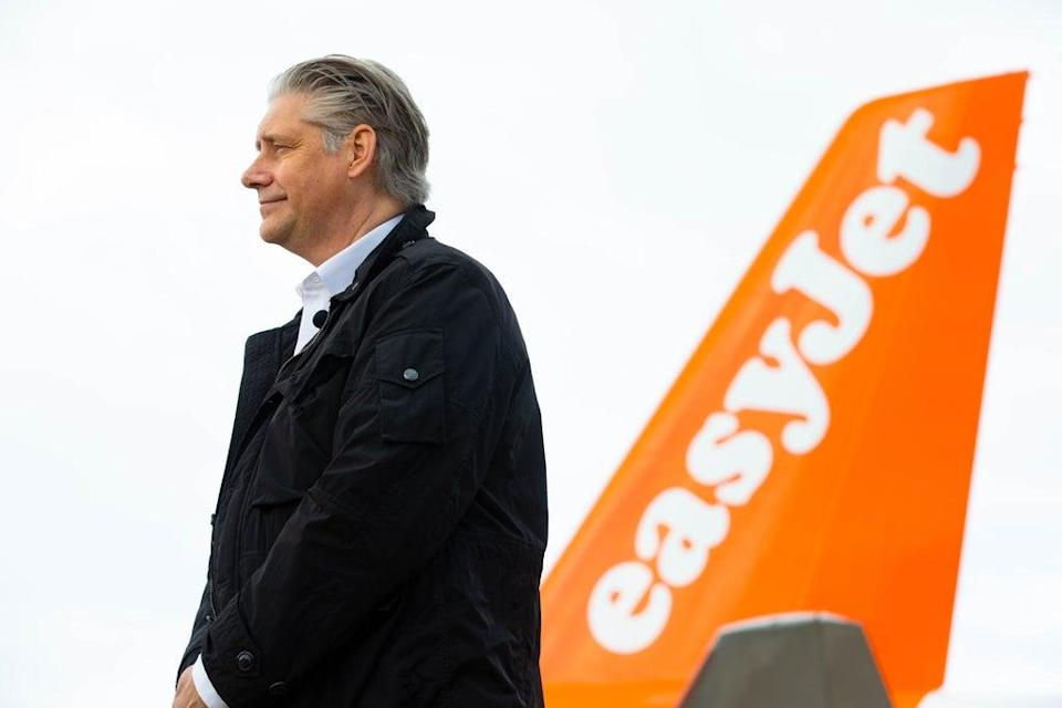 Easyjet CEO Johan Lundgren called for an end to the testing of vaccinated travellers from low-risk countries (PA) (PA Wire)