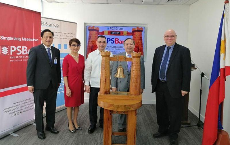 PSBank returns to PDEx Bourse with P4.65B Series B 3-Year fixed rate bonds