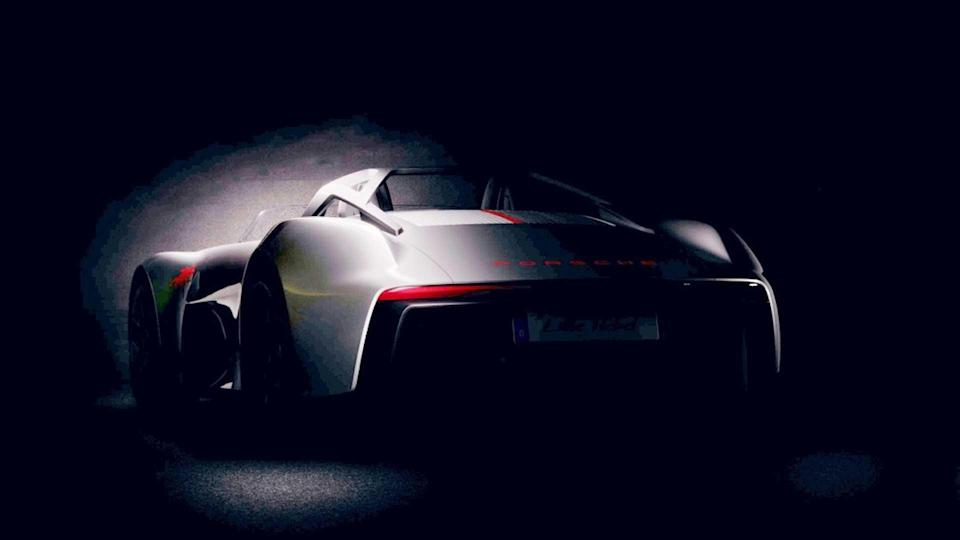 Porsche teases car that was never made