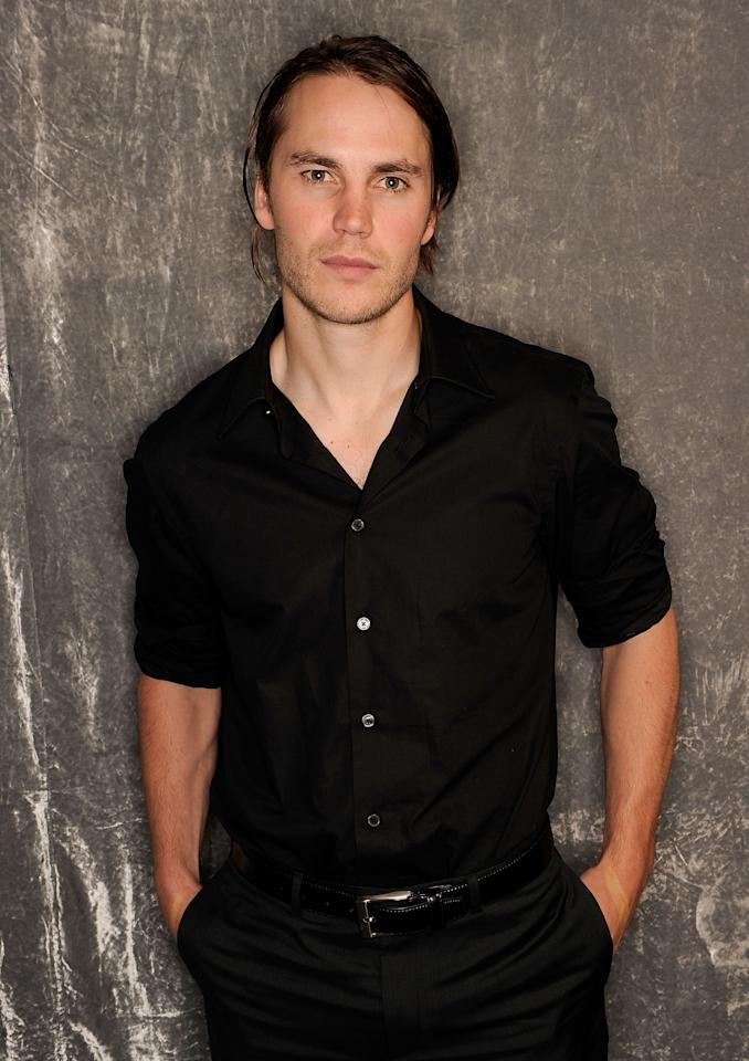 NEW YORK, NY - APRIL 21:  Actor Taylor Kitsch visits the Tribeca Film Festival 2011 portrait studio on April 21, 2011 in New York City.  (Photo by Larry Busacca/Getty Images for Tribeca Film Festival)