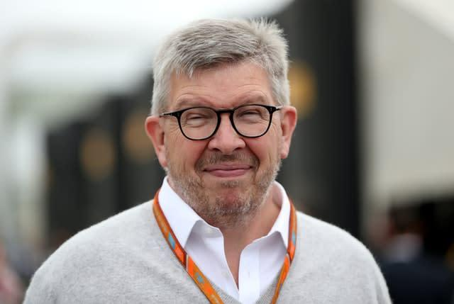 Former team boss Ross Brawn is now Formula One's managing director (David Davies/PA)