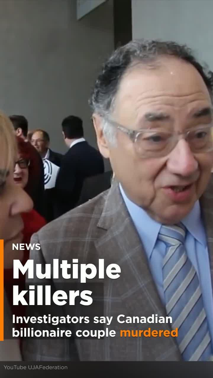 Private Investigators Say Several People Murdered Canadian Billionaire  Couple Barry and Honey Sherman