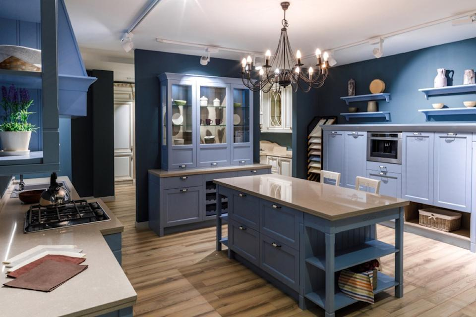 blue kitchen colors you should never use in your house