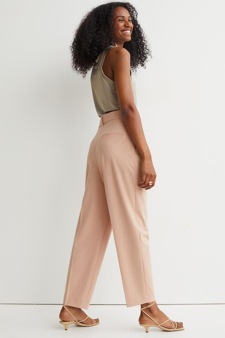 <p>The blush pink shade of these <span>H&amp;M Dress Pants</span> ($35) is too cute. You can rock them from the office to date night.</p>