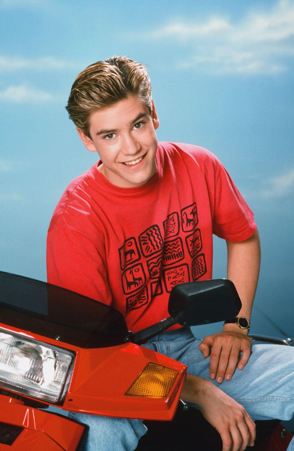 <p><em>Saved by the Bel</em><em>l</em>'s resident cutie was Mark-Paul's charming character Zack Morris, who lead the audience through his life at Bayside High. </p>