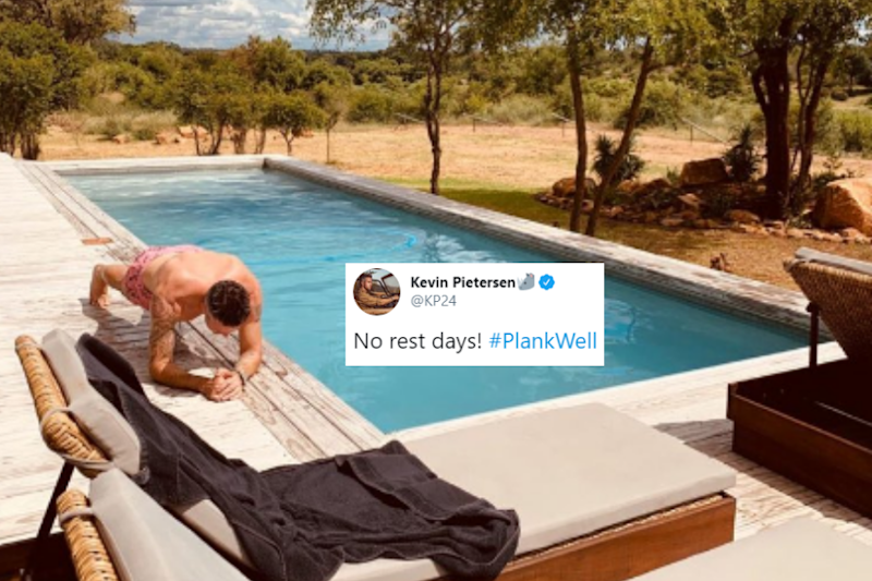 Kumar Sangakkara Takes a 'Beautiful' Jibe at Kevin Pietersen Working out by a Poolside
