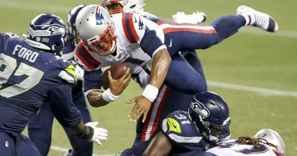 Foot US - NFL - Les Seattle Seahawks s'imposent d'un souffle contre les New England Patriots