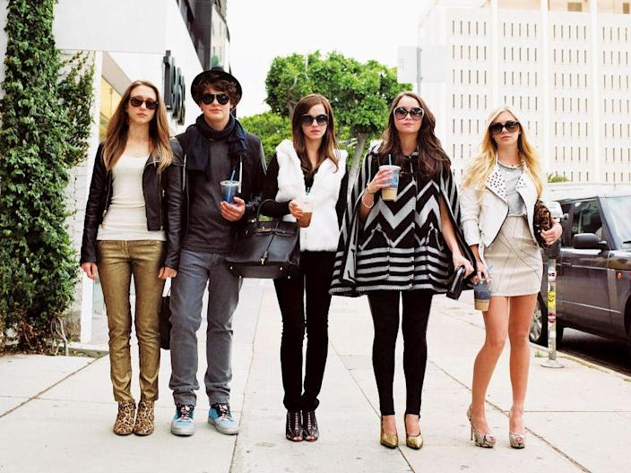"""""""The Bling Ring"""" is based on a group of real teens who robbed celebrities' homes."""