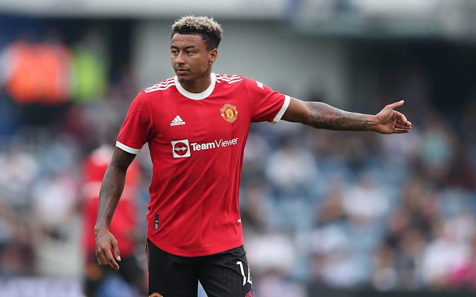 Jesse Lingard is in the last year of his contract at Old Trafford - GETTY IMAGES