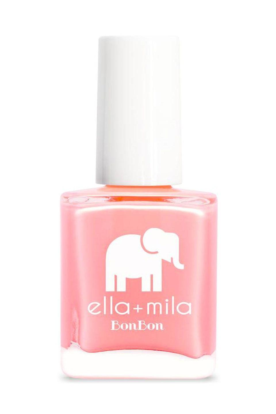 """<p><strong>ella+mila</strong></p><p>ulta.com</p><p><strong>$19.95</strong></p><p><a href=""""https://go.redirectingat.com?id=74968X1596630&url=https%3A%2F%2Fwww.ulta.com%2Fbonbon-collection-nail-polish%3FproductId%3DxlsImpprod16051024&sref=https%3A%2F%2Fwww.seventeen.com%2Fbeauty%2Fnails%2Fg2741%2Fbest-spring-nail-colors%2F"""" rel=""""nofollow noopener"""" target=""""_blank"""" data-ylk=""""slk:SHOP NOW"""" class=""""link rapid-noclick-resp"""">SHOP NOW</a></p><p>Wear this light coral shade from spring into late summer. </p>"""