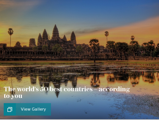 Copy of The world's 50 best countries - according to you