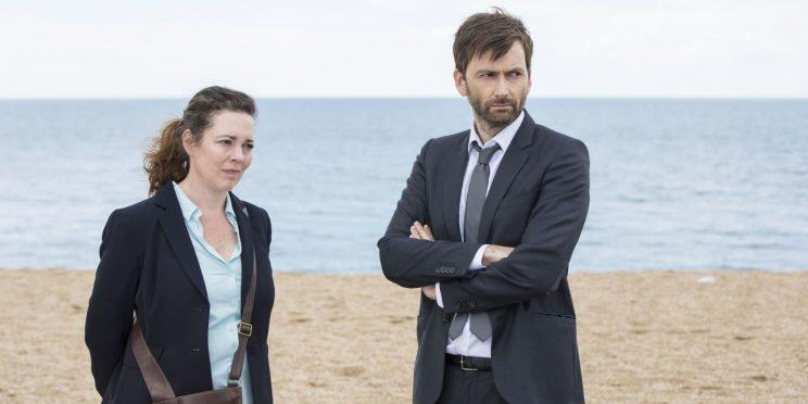 broadchurch season 3 pre preview a tease for the impatient and olivia colman and david tennant in season 3 of broadchurch