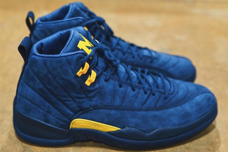 6d383d872c75 The  Michigan  Air Jordan 12 Will Hit Stores This Month