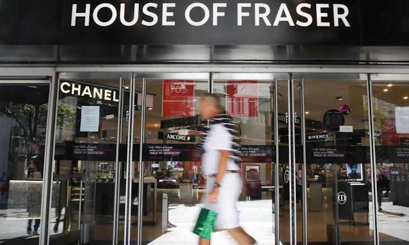 House of Fraser is refunding thousands of customers potentially millions of pounds.