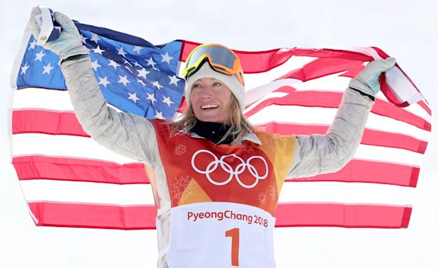 <p><strong>Country:</strong> United States<br><strong>Net Worth:</strong> $4 million<br> Jamie Anderson is one of the U.S.'s best snowboarders — the 27-year-old won the gold medal for her country at the Sochi Olympics in 2014, and she just defended her title at this year's Games, winning gold in slopestyle. She has endorsement deals with brands like GoPro and Oakley. (Shutterstock) </p>