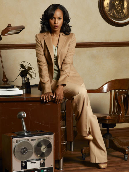 "SCANDAL - ABC's ""Scandal"" stars Kerry Washington as Olivia Pope. (ABC/CRAIG SJODIN)"
