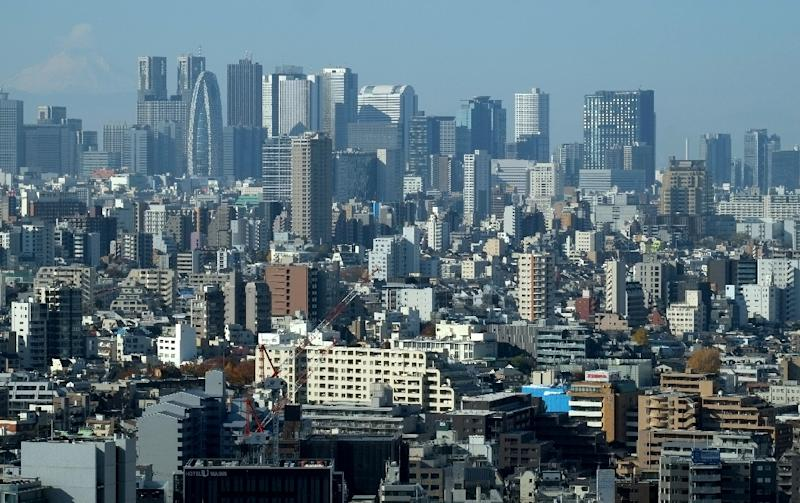 Property prices ballooned in Tokyo as the country's economy went from strength to strength (AFP Photo/Kazuhiro NOGI)