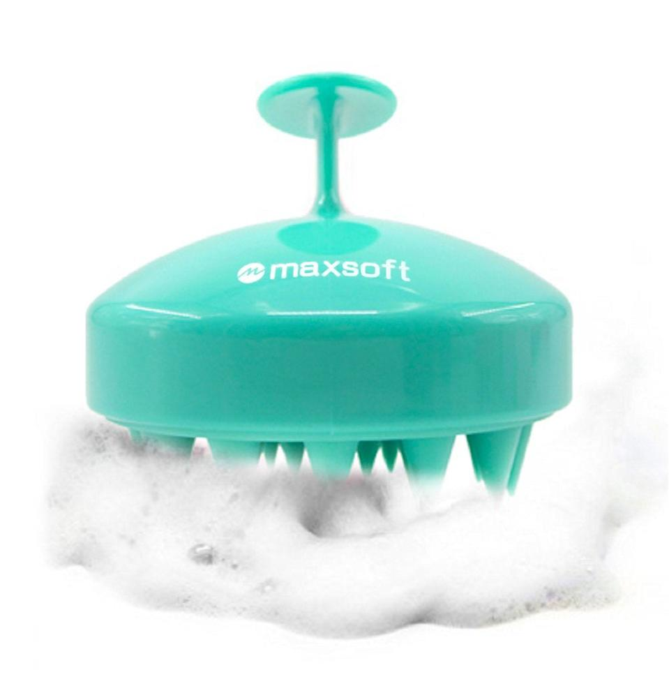"""<h3>Maxsoft Hair Scalp Massager Shampoo Brush</h3><br>As a total stan for scalp care, I was pretty pumped to try this rubbery brush. At first glance, it sort of reminded me of those <a href=""""https://amzn.to/2YNC34p"""" rel=""""nofollow noopener"""" target=""""_blank"""" data-ylk=""""slk:head-massager whisks"""" class=""""link rapid-noclick-resp"""">head-massager whisks</a> that deliver a toe-curling sensation throughout your body. So, if nothing else, I thought it would at least feel good. <br><br>However, when I eagerly reached for it after lathering a bit of shampoo in my roots, I felt...nothing? Even though the handle makes it easy to securely grip (like holding a Popsocket) it didn't really do a better job of working the product into my scalp than my own fingers could. I can't say for sure whether or not it did anything in terms of stimulating my scalp — but, unlike scrubs and other scalp treatments I've tried, it didn't produce any noticeable results in terms of look or feel.<br><br><strong>Final Verdict: Skip</strong><br><br><strong>Maxsoft</strong> Hair Scalp Massager Shampoo Brush, $, available at <a href=""""https://amzn.to/2EPQbCK"""" rel=""""nofollow noopener"""" target=""""_blank"""" data-ylk=""""slk:Amazon"""" class=""""link rapid-noclick-resp"""">Amazon</a>"""
