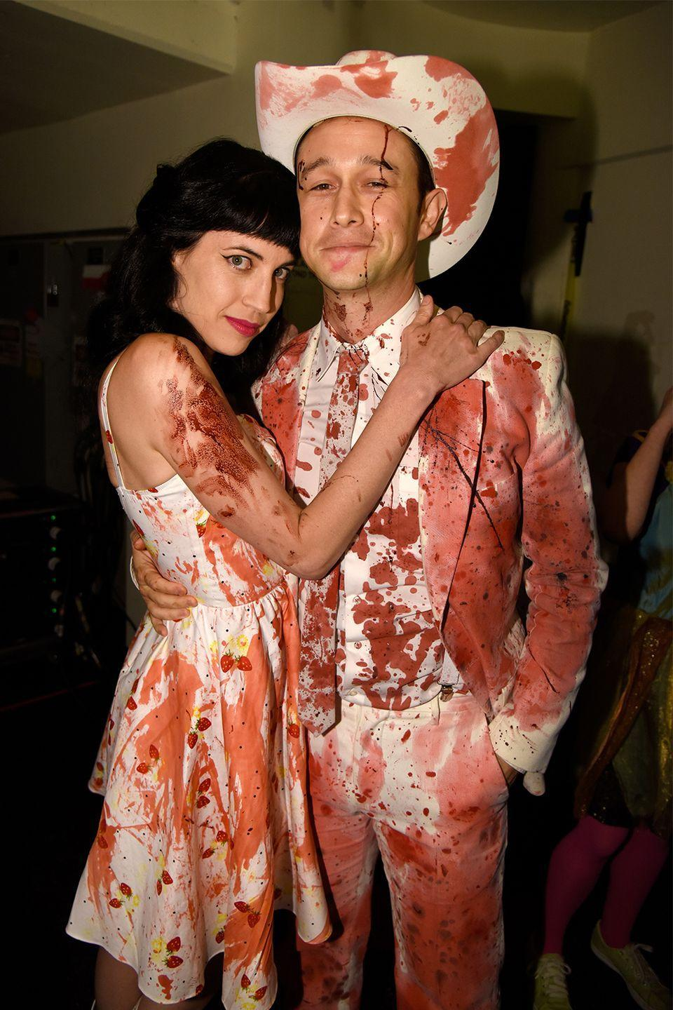 <p><strong>How long they've been together:</strong> Gordon-Levitt claimed he was off the market in 2013 and the couple were wed in a secret ceremony in 2014. They have two kids together.<br></p><p><strong>Why you forgot they're together:</strong> They're basically the gold standard when it comes to discretion—Gordon-Levitt rarely (if ever) talks about his marriage to the businesswoman or their children with the press and has maintained his privacy for most of his career.<br></p>