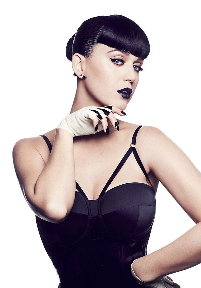 Katy Perry is launching a line of makeup with CoverGirl, including matte lipsticks and blue mascara; get the details here!