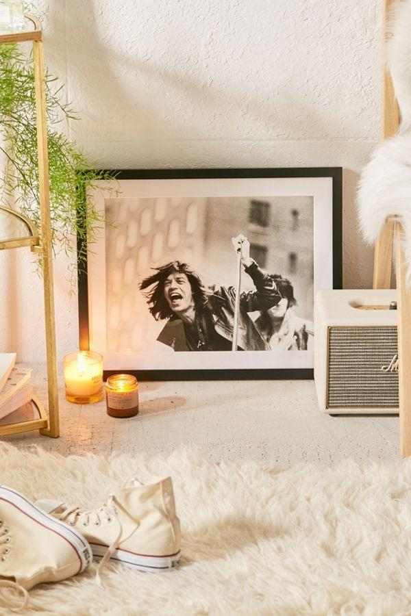 """<p>This <a href=""""https://www.popsugar.com/buy/Getty-Images-Rolling-Stones-5th-Ave-Art-Print-384770?p_name=Getty%20Images%20Rolling%20Stones%20on%205th%20Ave%20Art%20Print&retailer=urbanoutfitters.com&pid=384770&price=112&evar1=savvy%3Auk&evar9=44104053&evar98=https%3A%2F%2Fwww.popsugar.com%2Fsmart-living%2Fphoto-gallery%2F44104053%2Fimage%2F45487873%2FGetty-Images-Rolling-Stones-5th-Ave-Art-Print&list1=shopping%2Cgifts%2Choliday%2Cgift%20guide%2Cgifts%20for%20men%2Cshoppable&prop13=api&pdata=1"""" rel=""""nofollow"""" data-shoppable-link=""""1"""" target=""""_blank"""" class=""""ga-track"""" data-ga-category=""""Related"""" data-ga-label=""""https://www.urbanoutfitters.com/shop/getty-images-rolling-stones-on-5th-ave-art-print?category=gifts-for-men&amp;color=001"""" data-ga-action=""""In-Line Links"""">Getty Images Rolling Stones on 5th Ave Art Print</a> ($112 - $293) is so rock and roll. It'll look great in his dorm!</p>"""