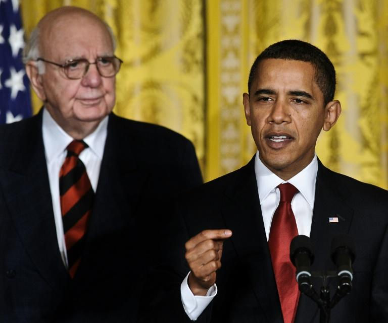Over his long career Volcker advised US leaders from Richard Nixon to Barack Obama
