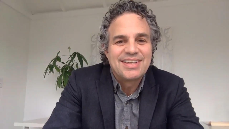 THE TONIGHT SHOW STARRING JIMMY FALLON -- Episode 1259E -- Pictured in this screengrab: Actor Mark Ruffalo during an interview on May 8, 2020 -- (Photo by: NBC/NBCU Photo Bank via Getty Images)