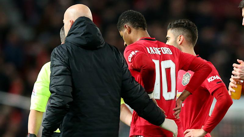 'Rashford injury more severe than expected' - Solskjaer says England star could miss Euro 2020