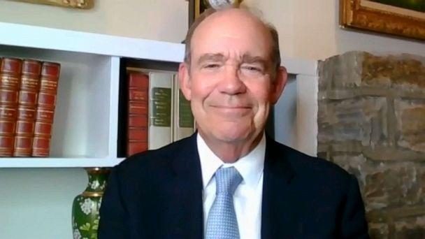 PHOTO: David Eisenhower, director of the Institute for Public Service at the Annenberg School for Communication, is the grandson of President Dwight D. Eisenhower. (ABC News)