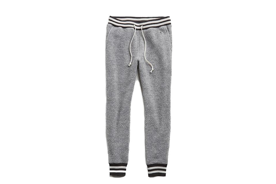 "$178, Todd Snyder. <a href=""https://www.toddsnyder.com/collections/sale/products/polartec-sweatpant-alloy"" rel=""nofollow noopener"" target=""_blank"" data-ylk=""slk:Get it now!"" class=""link rapid-noclick-resp"">Get it now!</a>"