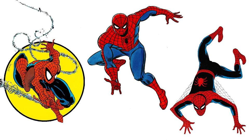 Artist Steve Ditko knocked it out of the park when coming up with the design for the Amazing Spider-Man.