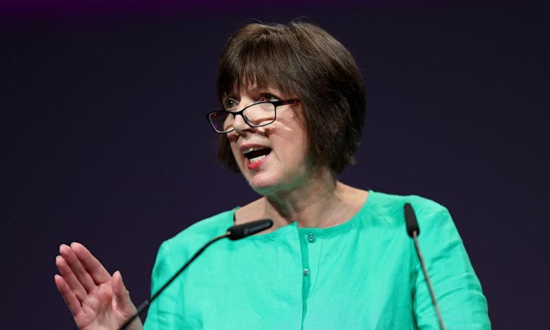 The TUC's Frances O'Grady: 'Nearly 50 years since the Ford machinists went on strike at Dagenham, the UK still has one of the worst gender pay gaps in Europe.'