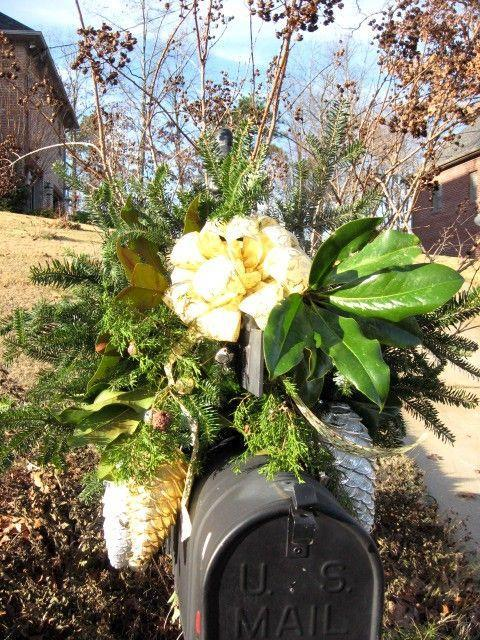"<p>There's more to Christmas greenery than pine and spruce. Savvy decorators use glossy magnolia leaves to make their mailbox swags really pop. </p><p><strong>Get the tutorial at <a href=""https://southernhospitalityblog.com/making-an-easy-mailbox-swag/"" rel=""nofollow noopener"" target=""_blank"" data-ylk=""slk:Southern Hospitality"" class=""link rapid-noclick-resp"">Southern Hospitality</a>.</strong></p><p><a class=""link rapid-noclick-resp"" href=""https://www.amazon.com/slp/jingle-bell-garland/jb24nbgydy7d7ad?tag=syn-yahoo-20&ascsubtag=%5Bartid%7C10050.g.33605249%5Bsrc%7Cyahoo-us"" rel=""nofollow noopener"" target=""_blank"" data-ylk=""slk:SHOP JINGLE BELL GARLAND"">SHOP JINGLE BELL GARLAND</a><br></p>"