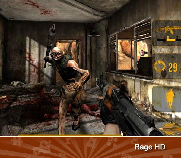 """<p class=""""MsoNormal"""">RAGE HD - Considering it was built by John Carmack's ahead-of-the-curve team at id Software, the megatextured brilliance of this on-rails shooter isn't shocking. Though its gameplay pales next to its console counterpart, it's still worth a look if you like pretty pictures. </p>  (<a href=""""https://ec.yimg.com/ec?url=http%3a%2f%2fwww.amazon.com%2fs%2fref%3dnb_sb_noss%3furl%3dsearch-alias%3Dvideogames%26amp%3bfield-keywords%3dRage%2bHD%26amp%3bx%3d0%26amp%3by%3d0%2f%3ftag%3dyahgam-20%26quot%3b%26gt%3b%26lt%3b%2fa%26gt%3b%26lt%3ba&t=1503065320&sig=Tb6Dr982NggRLdIXaAR3iw--~D href=""""https://search.yahoo.com/search?p=Rage+HD&fr=games-flipbook&ygmasrchbtn=Web+Searchcs=bz?"""">Search</a>)"""