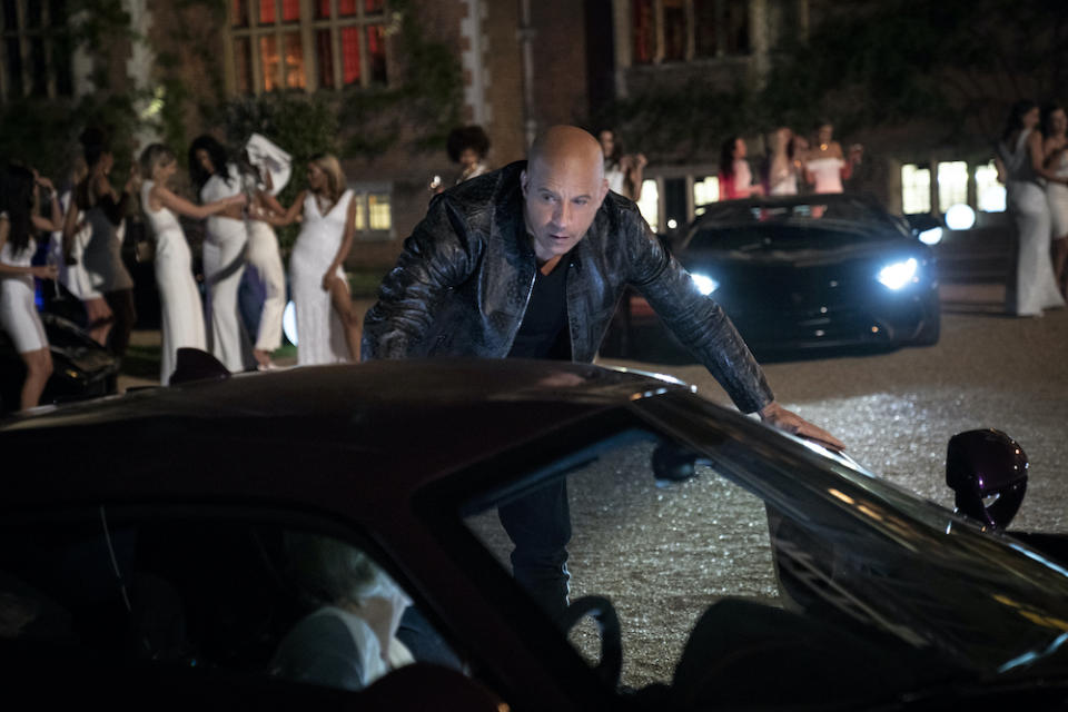 Dom (Vin Diesel) in Fast & Furious 9. (PHOTO: United International Pictures)