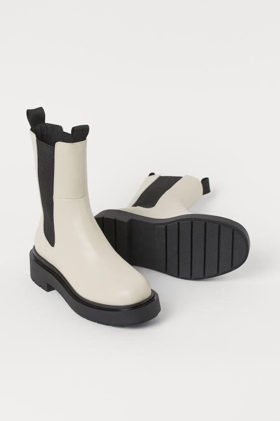 <p>If you're looking to add a pep in your step, look no further than these <span>High Profile Chelsea Boots</span> ($40).</p>