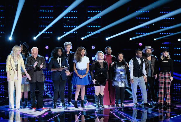 Headed into The Voice's Top 12 Results Show Tuesday, it looked, based on iTunes rankings and Monday's TVLine poll, like Shi'Ann Jones was going to be singing for a save — and hopefully, not a Mariah Carey song, either. Team Jennifer's green teen was last in sales and close to last in votes. So the […]