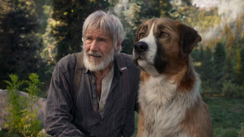 Harrison Ford and Buck in Call of the Wild (Credit: Fox)
