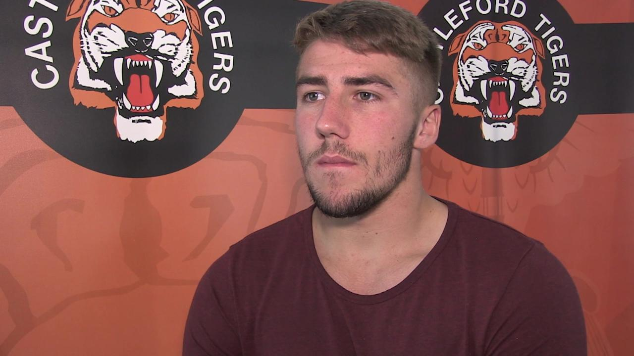 RUGBY LEAGUE - CASTLEFORD - Player Greg Minikin talking ahead of The Super 8's fixture v Wigan