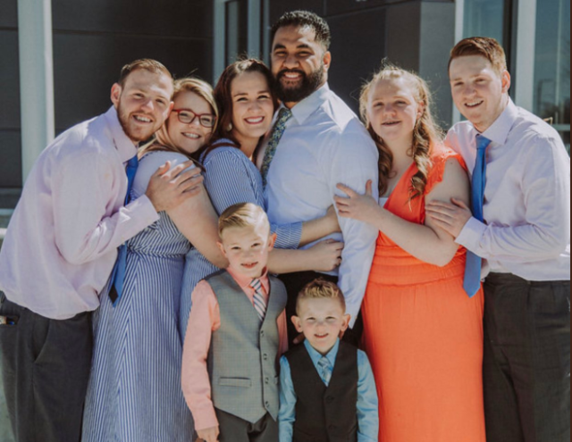 The inspiring story of how a couple adopted six children, including four with special needs. (Photo: Sadie Vaenuku)