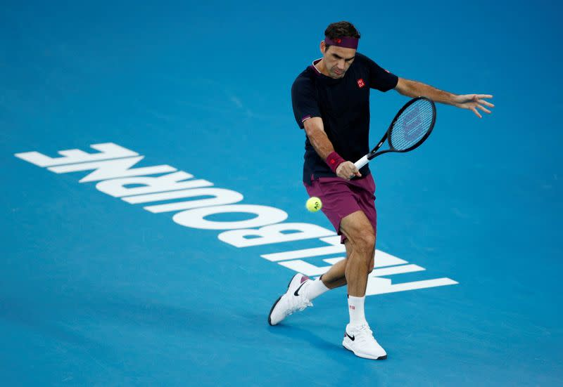 FILE PHOTO: FILE PHOTO: Tennis - Australian Open - Semi Final