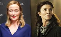 """<p><b>Original:</b> Jennifer Ehle (unaired pilot)</p><p><b>Recast: </b>Michelle Fairley</p><p>Ehle, who delighted viewers as Elizabeth Bennet in the 1995 <i>Pride and Prejudice</i> miniseries, was a big fan of George R.R. Martin's books, but <a href=""""http://www.thedailybeast.com/articles/2011/09/22/jennifer-ehle-on-a-gifted-man-game-of-thrones-pride-prejudice-colin-firth.html"""" rel=""""nofollow noopener"""" target=""""_blank"""" data-ylk=""""slk:didn't want to commit"""" class=""""link rapid-noclick-resp"""">didn't want to commit</a> to a long-running series so soon after having a baby.</p><p><i>(Credit: HBO)</i></p>"""