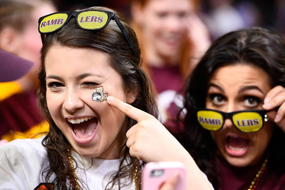 Loyola's Final Four run has elevated interest in the program, with attendance at home games increasing 54 percent year over year. (Getty)