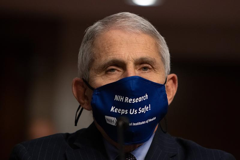 Dr Fauci discussed the effects of the Trump regimen in a TV interview (Getty Images)