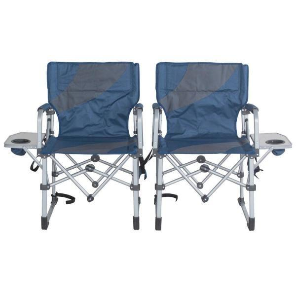 <p>Chill out with these <span>Sportsman Folding Camping Chairs With Side Table</span> ($149 for two).</p>