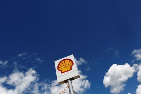 FILE PHOTO: A logo of Shell is pictured at a gas station in the western Canakkale province, Turkey April 25, 2016. REUTERS/Murad Sezer/File Photo