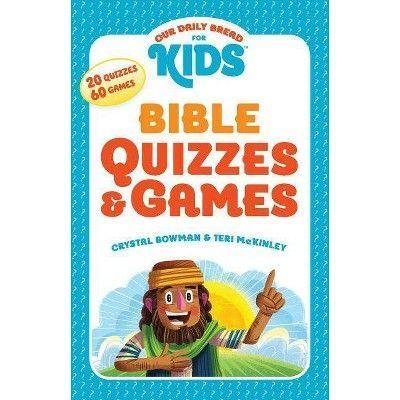 "<p>target.com</p><p><strong>$9.29</strong></p><p><a href=""https://www.target.com/p/our-daily-bread-for-kids-bible-quizzes-games-by-crystal-bowman-teri-mckinley-paperback/-/A-78144411"" rel=""nofollow noopener"" target=""_blank"" data-ylk=""slk:Shop Now"" class=""link rapid-noclick-resp"">Shop Now</a></p><p>Brain-teasers challenge the mind by putting critical thinking skills to work, and this travel-friendly book of games and quizzes is chock full of 'em. Through crosswords, word searches, and picture puzzles, kids can learn basic Bible knowledge from Genesis through the Book of Revelation.</p>"