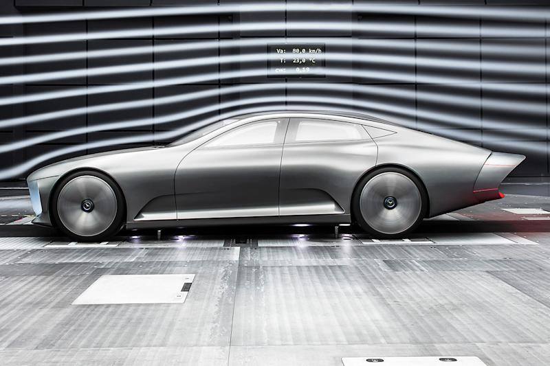Mercedes-Benz warns Tesla that it's preparing an electric luxury sedan
