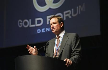 Chuck Jeannes, CEO of Goldcorp speaks at Denver Gold Forum industry conference in Denver