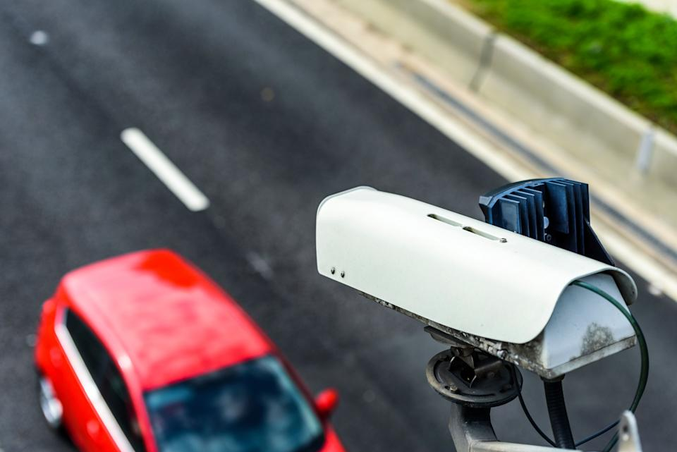 Speed camera monitoring traffic. Source: Getty Images